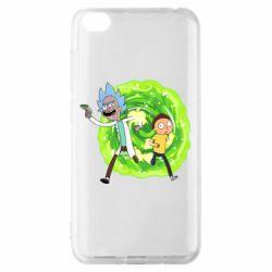 Чохол для Xiaomi Redmi Go Rick and Morty art