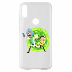 Чохол для Xiaomi Mi Play Rick and Morty art