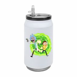 Термобанка 350ml Rick and Morty art