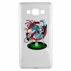 Чохол для Samsung A5 2015 Rick and Morty as Ghostbusters