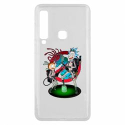 Чохол для Samsung A9 2018 Rick and Morty as Ghostbusters