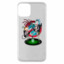Чохол для iPhone 11 Rick and Morty as Ghostbusters