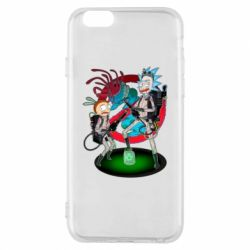 Чохол для iPhone 6/6S Rick and Morty as Ghostbusters