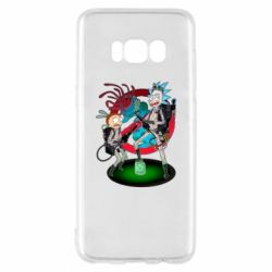 Чохол для Samsung S8 Rick and Morty as Ghostbusters