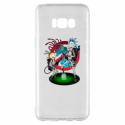 Чохол для Samsung S8+ Rick and Morty as Ghostbusters