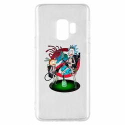Чохол для Samsung S9 Rick and Morty as Ghostbusters
