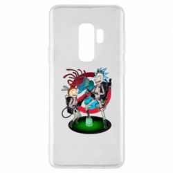 Чохол для Samsung S9+ Rick and Morty as Ghostbusters