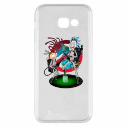 Чохол для Samsung A5 2017 Rick and Morty as Ghostbusters