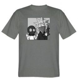 Мужская футболка Rick and Morty Bandits