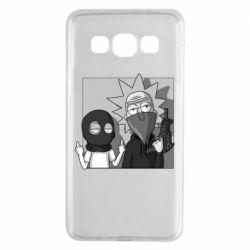 Чехол для Samsung A3 2015 Rick and Morty Bandits
