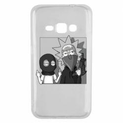 Чехол для Samsung J1 2016 Rick and Morty Bandits