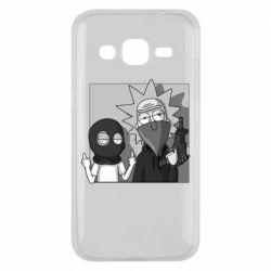 Чехол для Samsung J2 2015 Rick and Morty Bandits