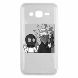Чехол для Samsung J5 2015 Rick and Morty Bandits