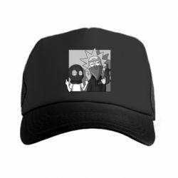 Кепка-тракер Rick and Morty Bandits