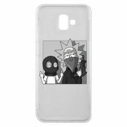 Чехол для Samsung J6 Plus 2018 Rick and Morty Bandits