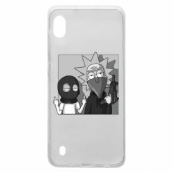 Чехол для Samsung A10 Rick and Morty Bandits