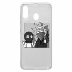 Чехол для Samsung A20 Rick and Morty Bandits