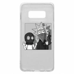 Чехол для Samsung S10e Rick and Morty Bandits