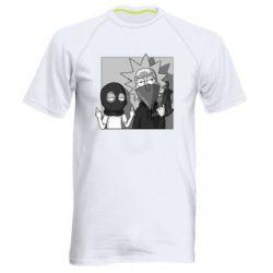 Мужская спортивная футболка Rick and Morty Bandits