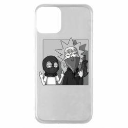 Чехол для iPhone 11 Rick and Morty Bandits