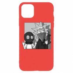 Чехол для iPhone 11 Pro Rick and Morty Bandits