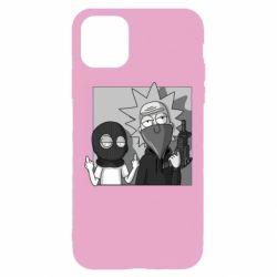 Чехол для iPhone 11 Pro Max Rick and Morty Bandits