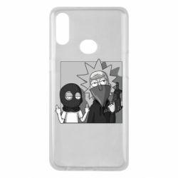 Чехол для Samsung A10s Rick and Morty Bandits