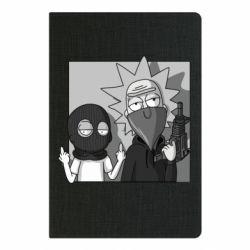 Блокнот А5 Rick and Morty Bandits