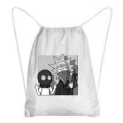 Рюкзак-мешок Rick and Morty Bandits
