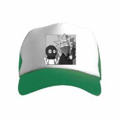 Детская кепка-тракер Rick and Morty Bandits