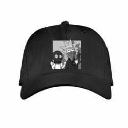 Детская кепка Rick and Morty Bandits