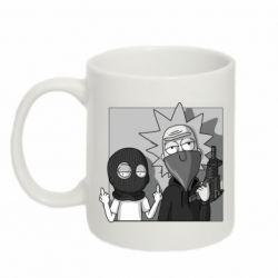 Кружка 320ml Rick and Morty Bandits