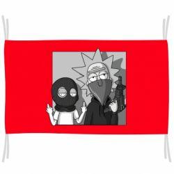 Флаг Rick and Morty Bandits