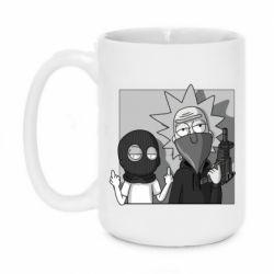 Кружка 420ml Rick and Morty Bandits