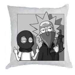 Подушка Rick and Morty Bandits
