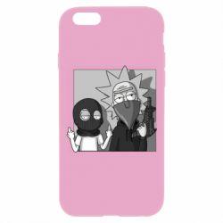 Чехол для iPhone 6 Plus/6S Plus Rick and Morty Bandits