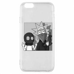 Чехол для iPhone 6/6S Rick and Morty Bandits