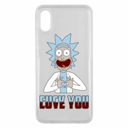Чохол для Xiaomi Mi8 Pro Rick and Morty fack and love you