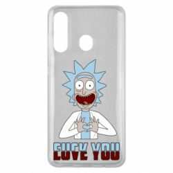Чохол для Samsung M40 Rick and Morty fack and love you