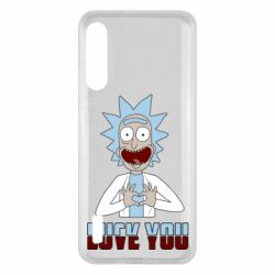 Чохол для Xiaomi Mi A3 Rick and Morty fack and love you