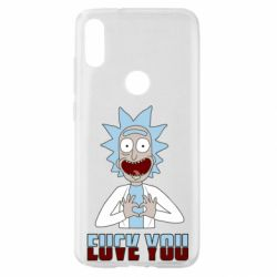 Чохол для Xiaomi Mi Play Rick and Morty fack and love you