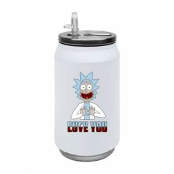 Термобанка 350ml Rick and Morty fack and love you