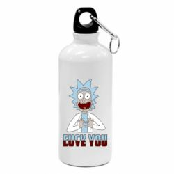 Фляга Rick and Morty fack and love you