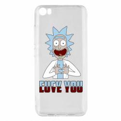 Чохол для Xiaomi Mi5/Mi5 Pro Rick and Morty fack and love you