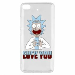 Чохол для Xiaomi Mi 5s Rick and Morty fack and love you