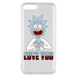 Чохол для Xiaomi Mi6 Rick and Morty fack and love you