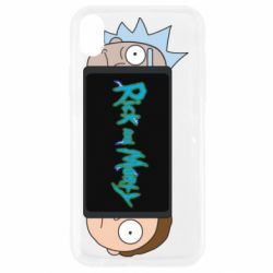 Чехол для iPhone XR Rick and Morty Game Console