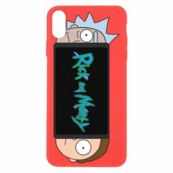 Чехол для iPhone Xs Max Rick and Morty Game Console