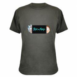 Камуфляжная футболка Rick and Morty Game Console