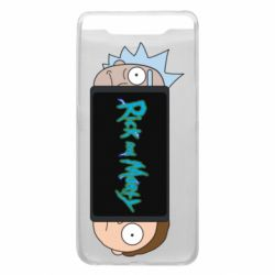 Чехол для Samsung A80 Rick and Morty Game Console